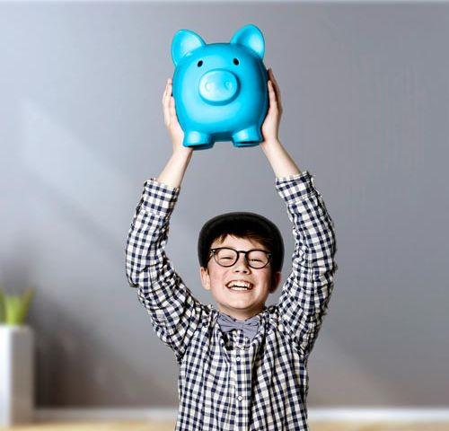 Wie Kinder richtig sparen lernen